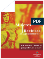 """Mujeres reclusas en Aguascalientes"""