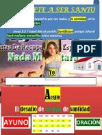 16 Dias de Santidad -Angie