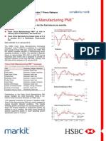 HSBC Flash China Manufacturing PMI