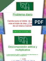 Descomposición aditiva y multiplicativa