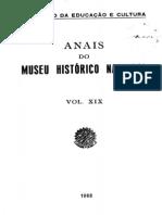 Mhn - Anais Do Mhn 19