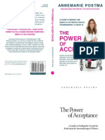 The Power of Acceptance - AnneMarie Postma