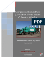 CNG Fuel Use in Refuse Collection Vehicles White Paper Highlights - WIH Resource Group
