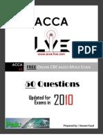 www.acca-live.com   Free CBE ACCA F3 Financial Accounting Mock Exam