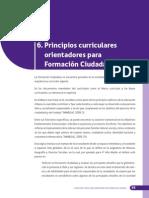 Principios Curriculares Orientadores Habilidades Ciudadania