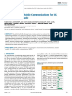 Millimeter Wave Mobile Communications for 5G Cellular