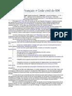 Code civil Français