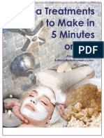 5 Treatments at home
