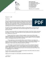 DISTRICT Pineda Rosas Parent Letter 092409