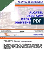 Alcatel 9400 AWY Operation (Spa)