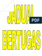 TAJUK JADUAL