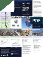 I-215 Brochure Map