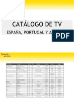Catalogo TVEspana Portugal Andorra