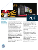 ~ HP z800 Workstation Datasheet (2011.03-Mar)