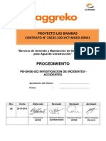 Pb-qhse-022 Procedimiento de Investigacion de Incidentes - Accidentes
