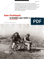 Sam Peckinpah el hombre que mató a  John Ford GONZALO SUÁREZ