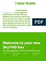 Sky±HD User Guide