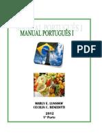 MANUAL PORTUGUÊS  I -1º PARTE 2012