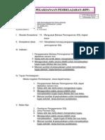 RPP RPL 11 Menerapkan Bahasa Pemrograman SQL Tingkat Dasar