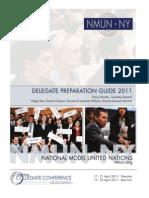 NYMUN 2011 Delegate Preparation Guide