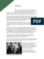 Patriot Act vs. Hitler's Enabling Act
