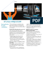 ~ HP z400 Workstation - DataSheet (2009.03-Mar)