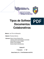 tipo de software y documentos colaborativos 1