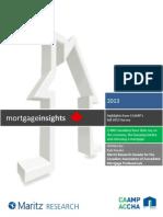 CAAMP Fall 2013 Mortgage Insights