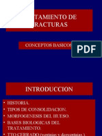 TRATAMIENTO DE FRACTURAS