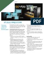 ~ HP z600 Workstation DataSheet (2009.03-Mar)