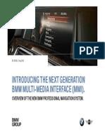 BMW Multi Media Interface