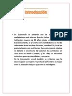Investigacion Analfabetismo - Estadistica