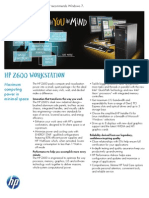 HP z600 Workstation Datasheet (2010.09-Sep)