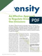 An Effect Appr to Reg GHG Emissions (APEG BC 2008)