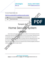 1200 Home Security System