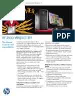HP z800 Workstation Datasheet (2010.08-Aug) (Xeon X5600 Series)