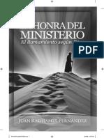 Juan Radhamés Fernández - La Honra del Ministerio