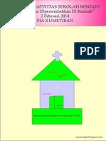 Bahan Kreativitas Sekolah Minggu 2 Februari 2014 PIA Kumetiran