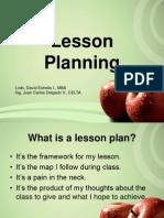 Lessonplanning Presentation