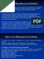 #1 Que Es La Manufactura Esbelta