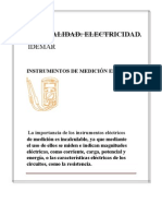 Instrumentos de Medicin Elctrica