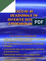 Vaccinari ocazionale