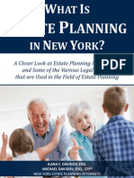 What Is Estate Planning in New York?