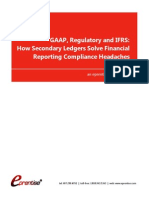 GAAP Regulatory and IFRS How Secondary Ledgers Solve Financial Reporting Compliance Headaches