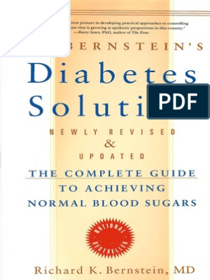 soluciones para la diabetes de richard bernstein
