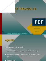 Effects of Television on Children