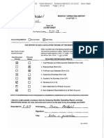 Steven Meldahl Operating Report 7-31-13