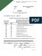 Steven Meldahl Operating Report 9-30-13