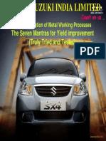 Maruti Car Manufacture