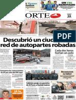 Periódico Norte edición impresa día 24 de enero 2014